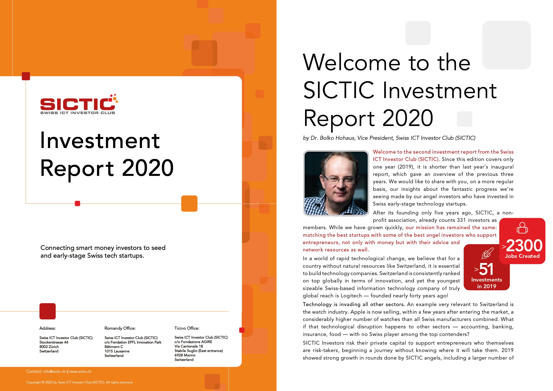 SICTIC Investment Report 2020